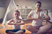 istock Some peace and harmony with my child. 1136127929