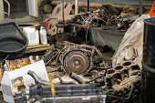 istock some random car machine parts and details in auto service workshop 1278793864