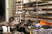 istock some random car machine parts and details in auto service workshop 1278793867