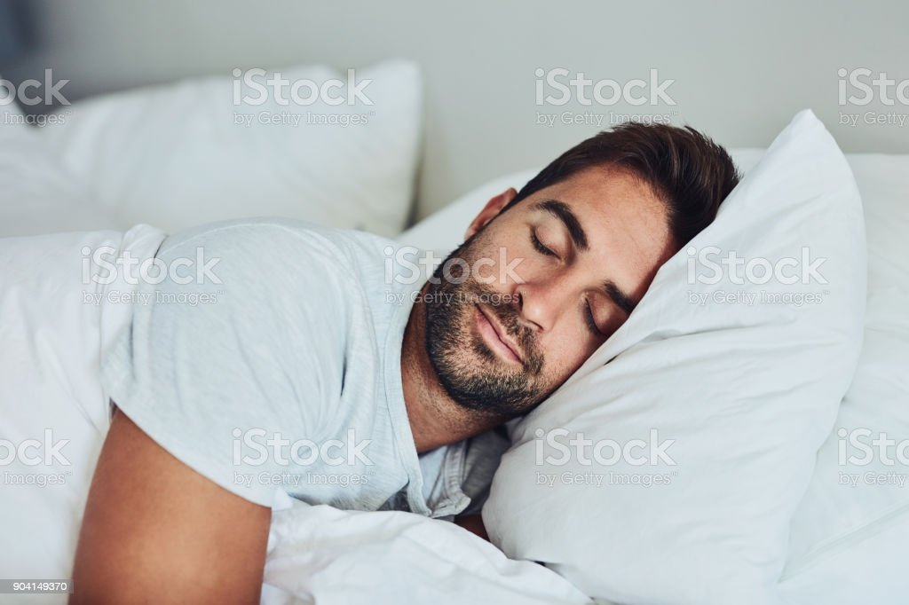 Some rest after a hard day's work stock photo