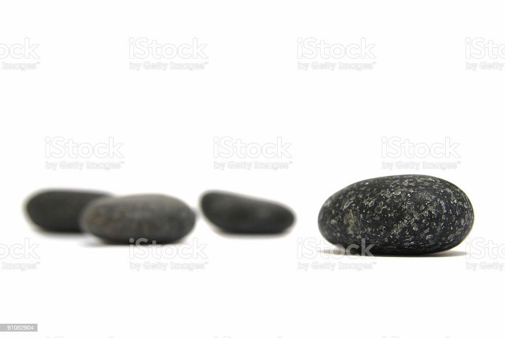 some round granit stones royalty-free stock photo