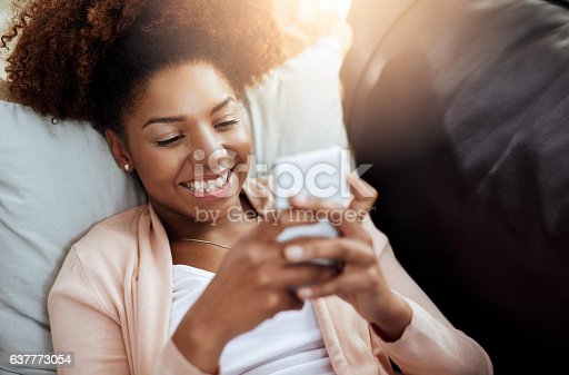 616898108istockphoto Some status updates just make you smile 637773054