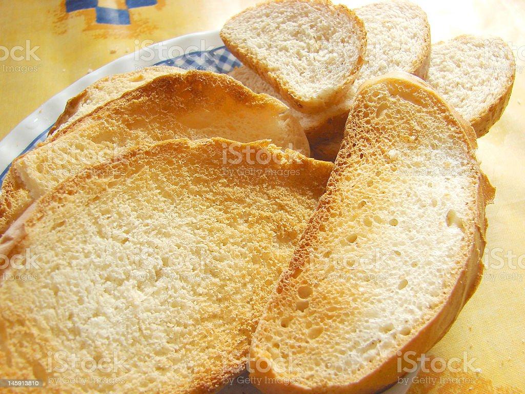 Some toastes stock photo