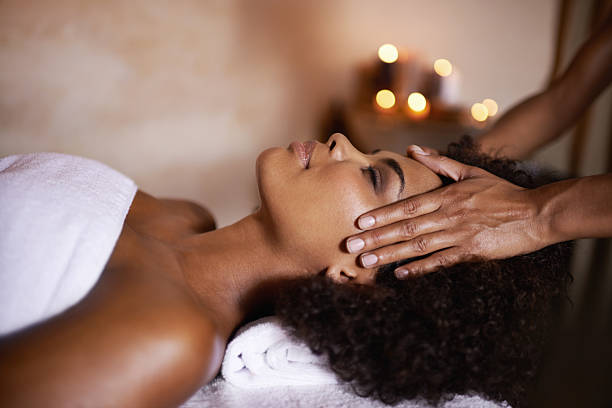 Some well needed me time stock photo