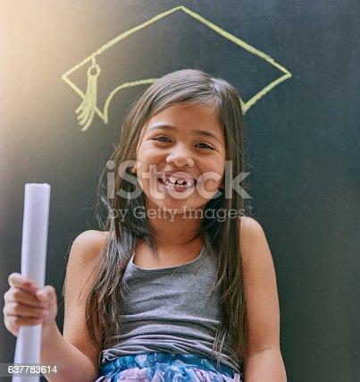 istock Someday I will achieve all my dreams! 637783614