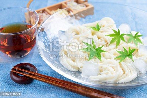 Somen Japanese noodle