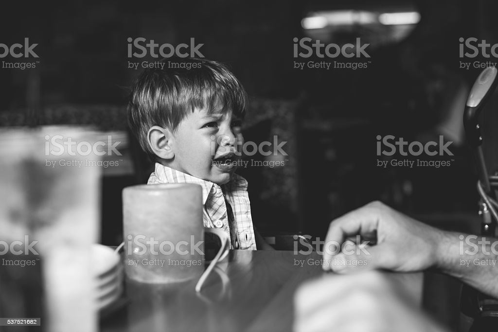 Someone isn't happy - Royalty-free Baby - Human Age Stock Photo