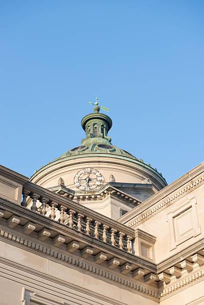 Somerset County Courthouse Pennsylvania Blue Sky stock photo