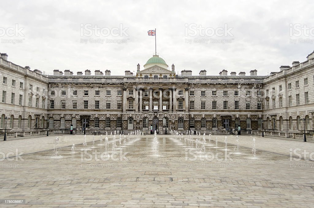 Somerset House, London, UK stock photo