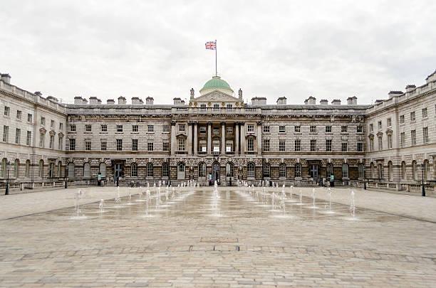 Somerset House, Londra, Regno Unito - foto stock