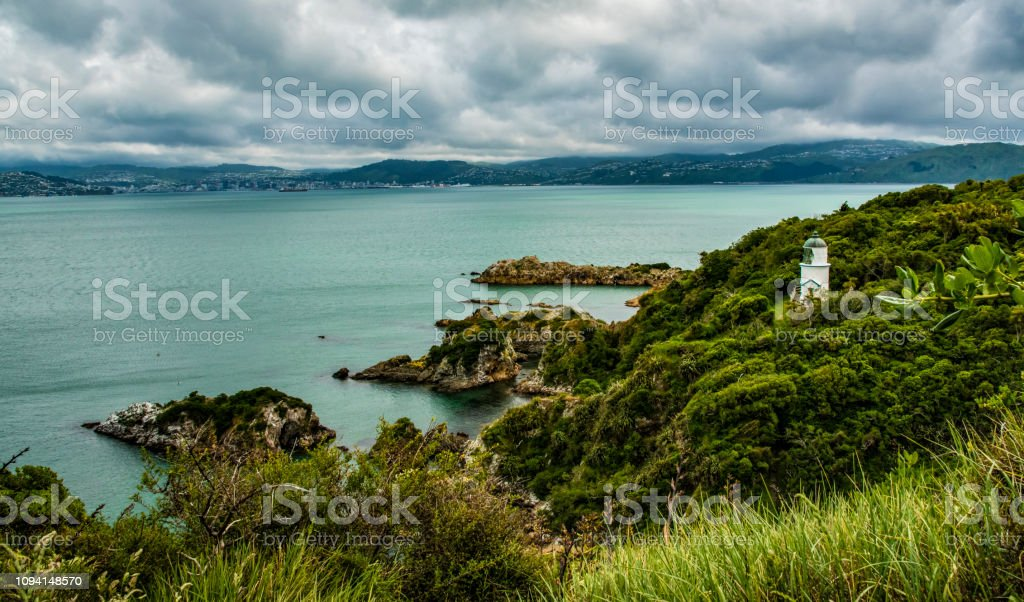 Somes Island, New Zealand stock photo