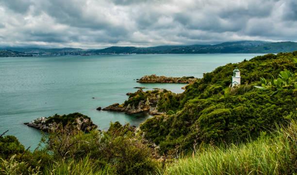 Somes Island, New Zealand stock photo