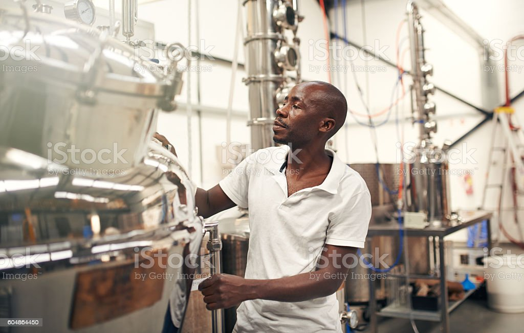 Something amazing is brewing stock photo