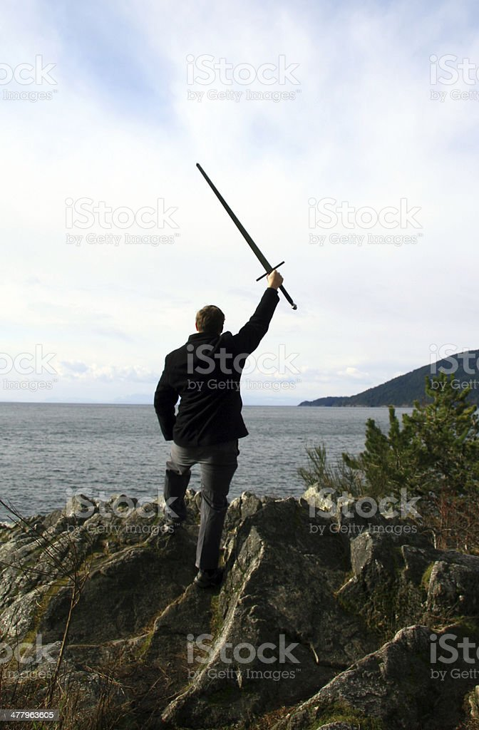 Something to Conquer royalty-free stock photo