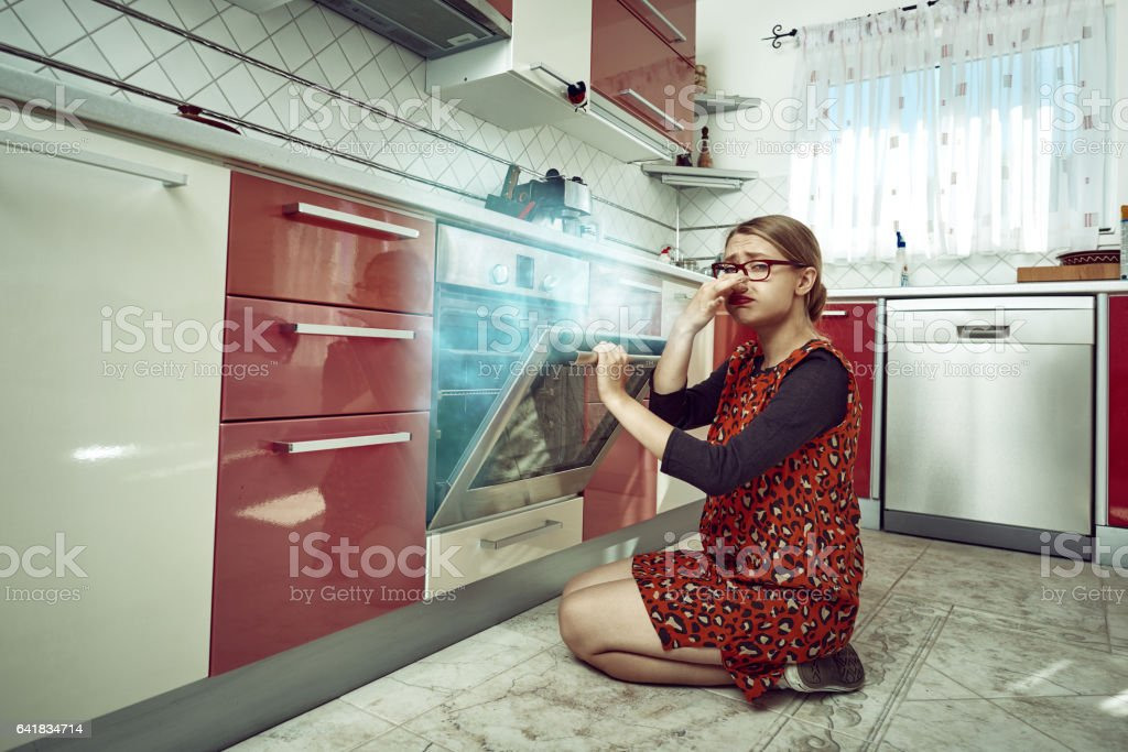 something went wrong with my food stock photo