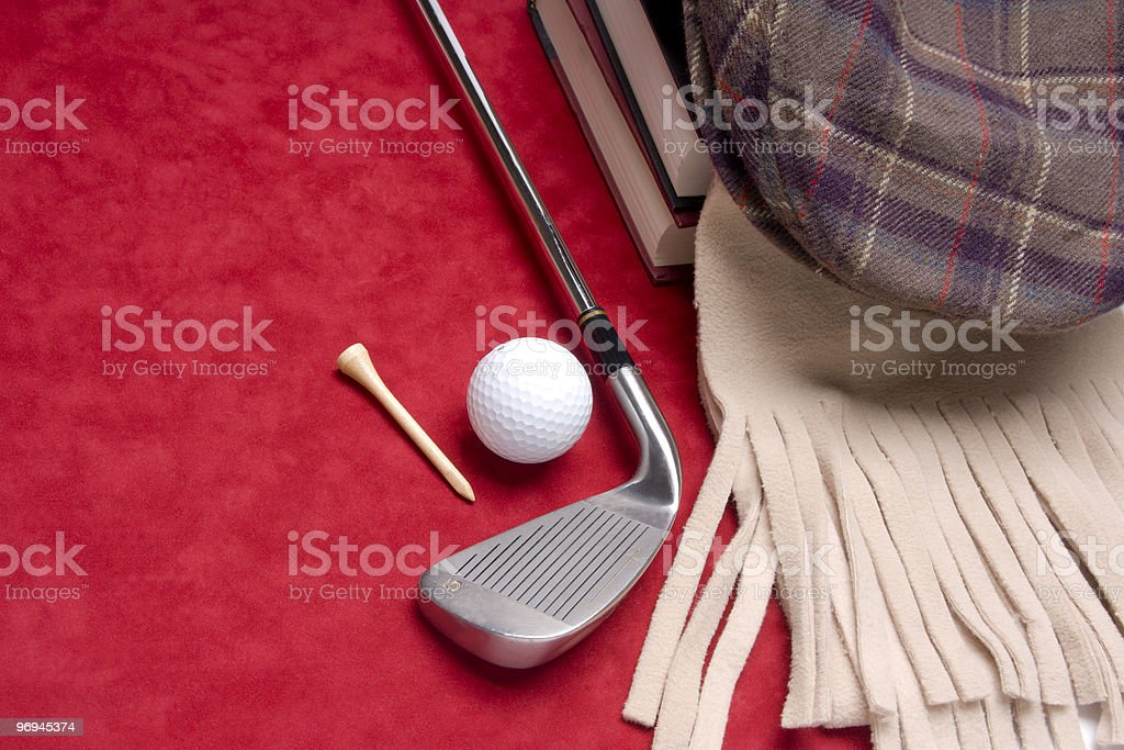 Somethings about golf royalty-free stock photo