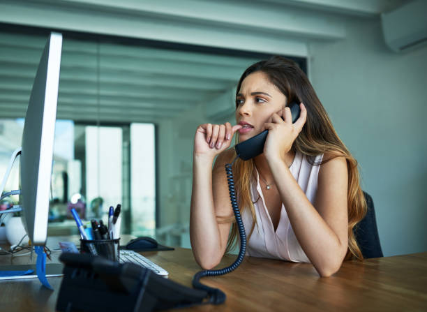 119 Nail Biting Office Stock Photos, Pictures & Royalty-Free Images - iStock