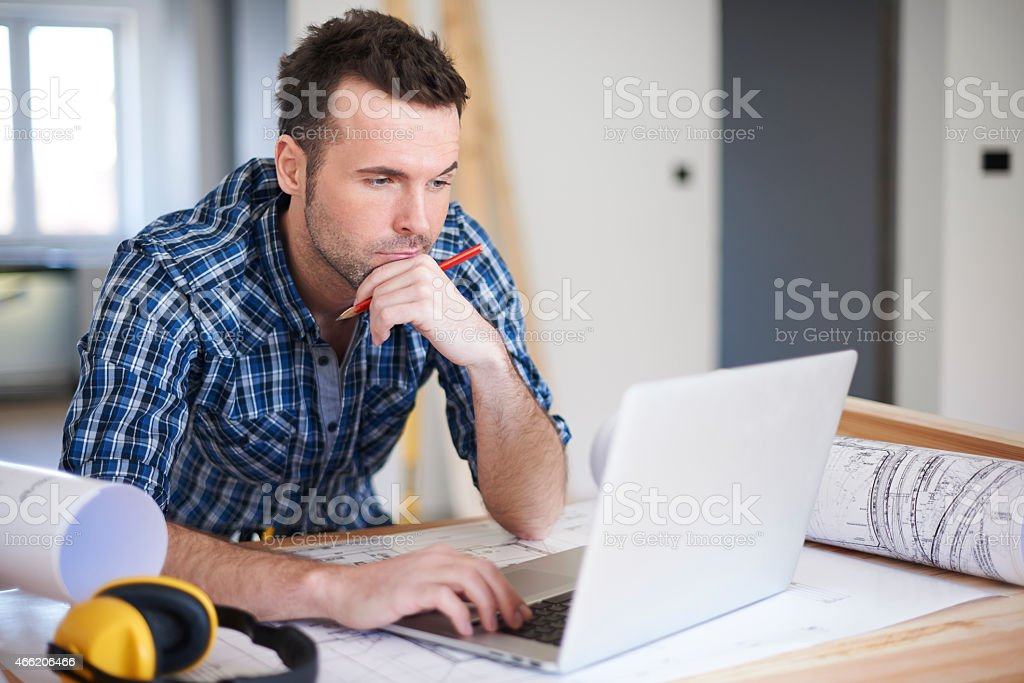 Sometimes difficult command from customers are problem for me stock photo