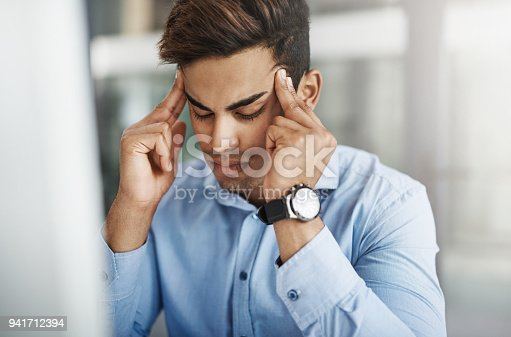 istock Sometimes even the best get stressed 941712394