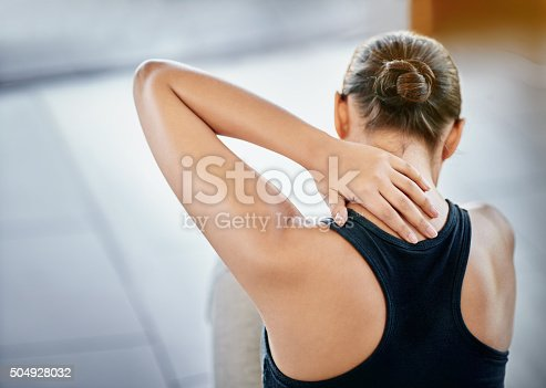 istock Sometimes exercise can lead to injury 504928032