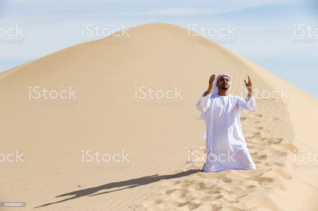 Sometimes it takes only a prayer to change everything stock photo