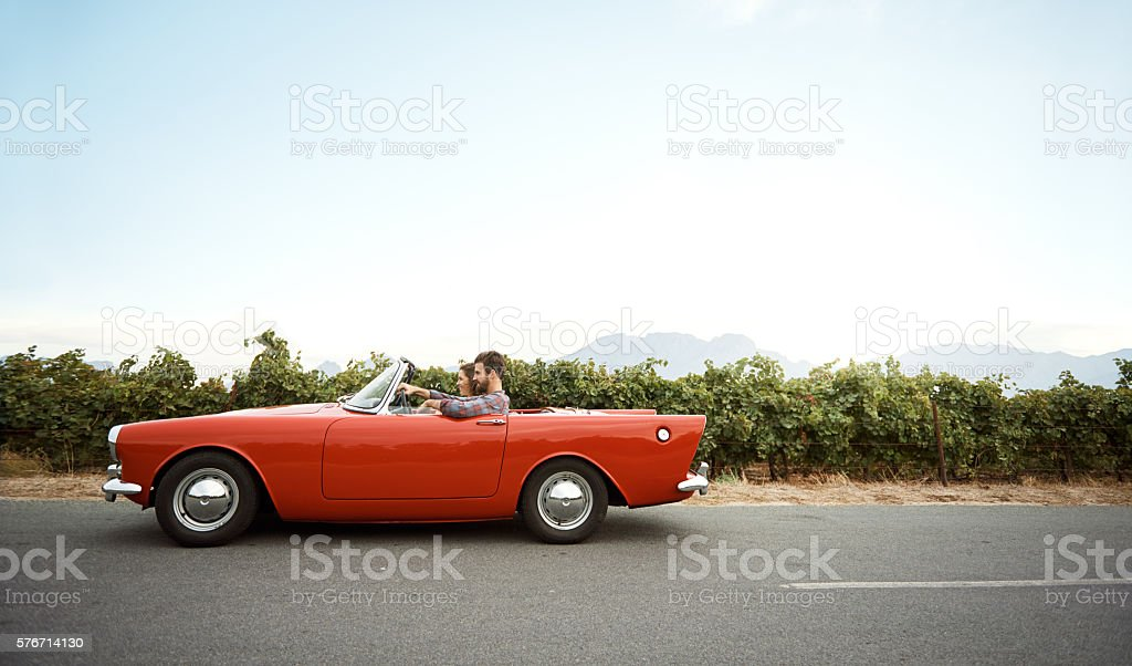Sometimes it's a little better to travel than to arrive stock photo
