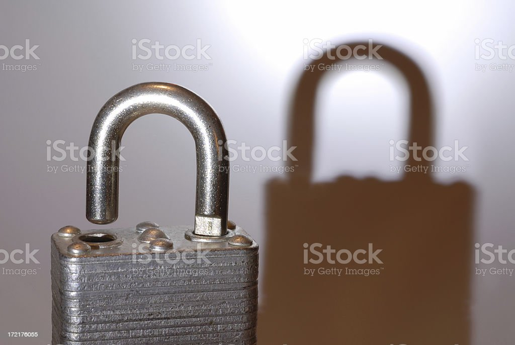 Sometimes Security is Just an Illusion royalty-free stock photo