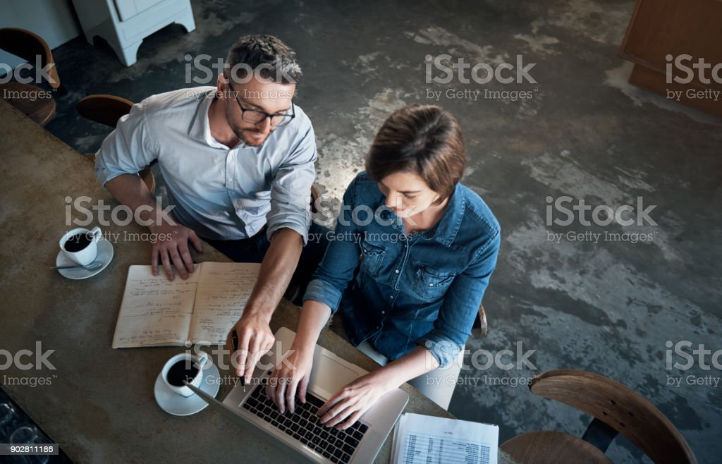 Sometimes success requires you to work weekends - foto stock