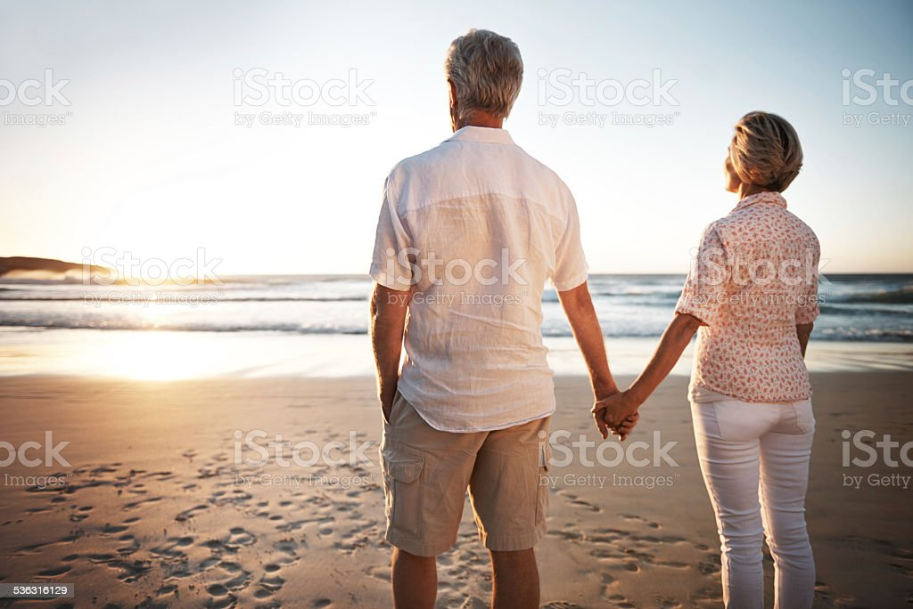 Sometimes when people say forever, they mean it stock photo