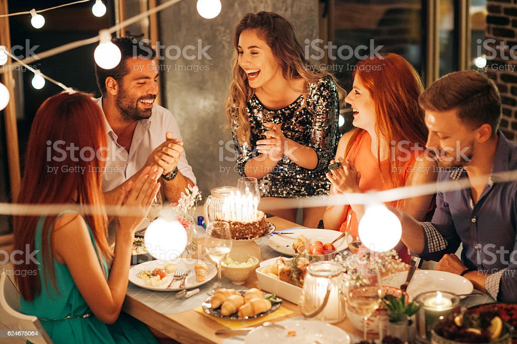 Sometimes you just need cake stock photo