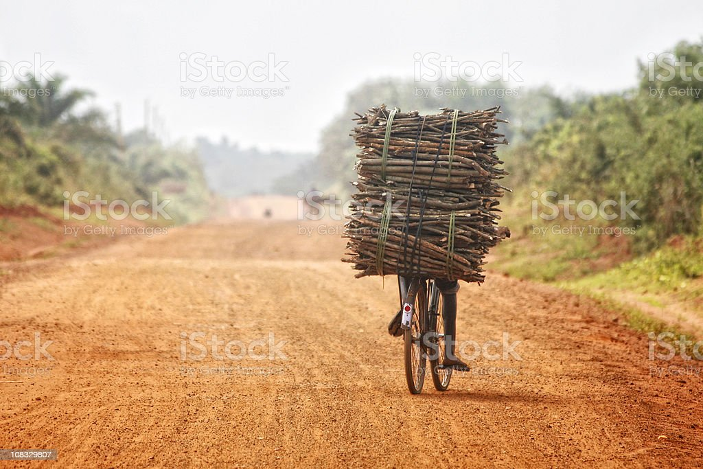 somewhere in africa stock photo