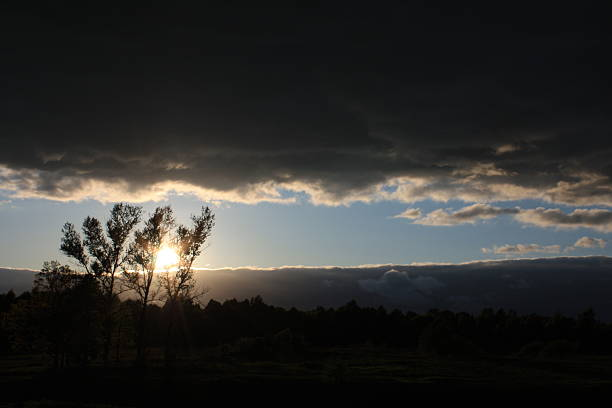 Irgendwo in den Wolken – Foto