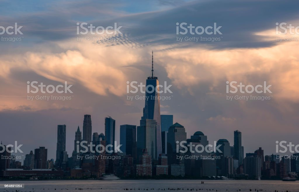 Somewhere in the sky royalty-free stock photo