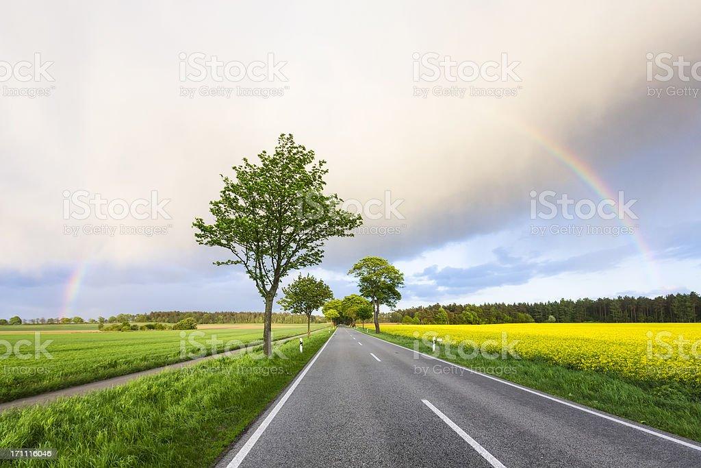 Somewhere under the Rainbow royalty-free stock photo