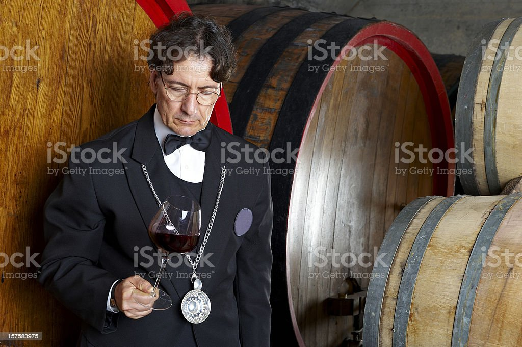 Sommelier  Adult Stock Photo