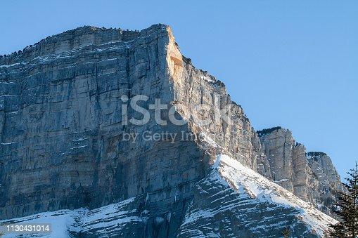 istock Sommet du Mont Granier en Chartreuse 1130431014
