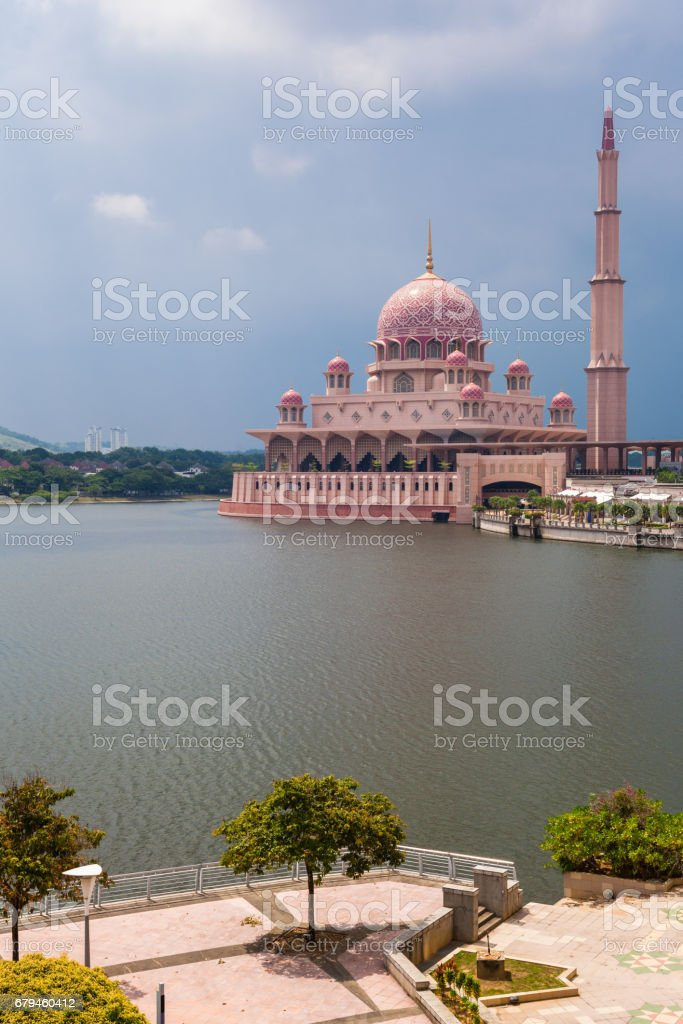 Putra Mosque, Malaysia royalty-free stock photo