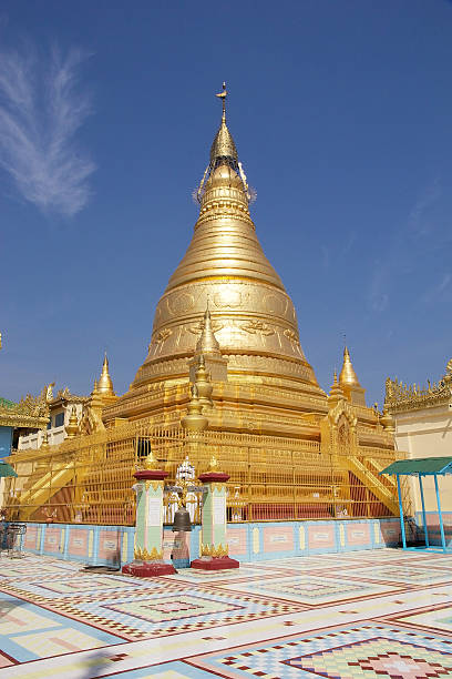 sone oo pone nya shin pagoda, myanmar - pone stock photos and pictures