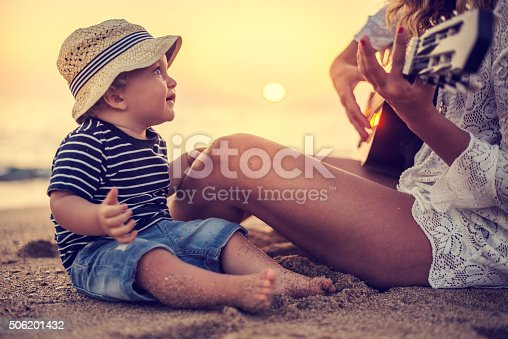 istock Song for my little one 506201432