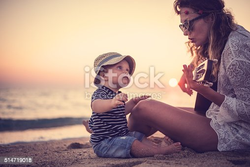 istock Song for my little one 514719018