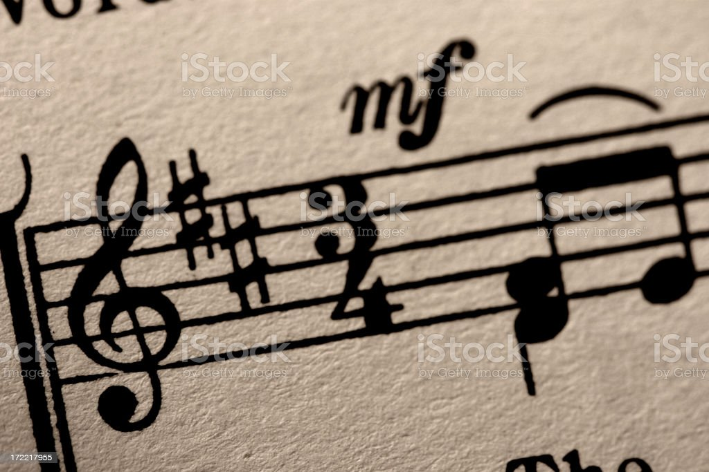 Song start royalty-free stock photo