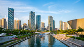 Songdo Central Park. Incheon City,South Korea