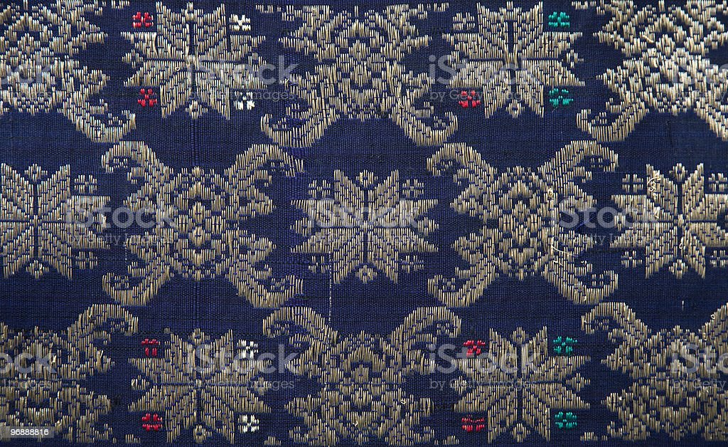 Songket Palembang royalty-free stock photo