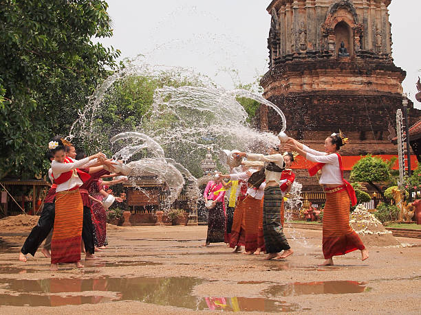 Best Songkran Stock Photos, Pictures & Royalty-Free Images