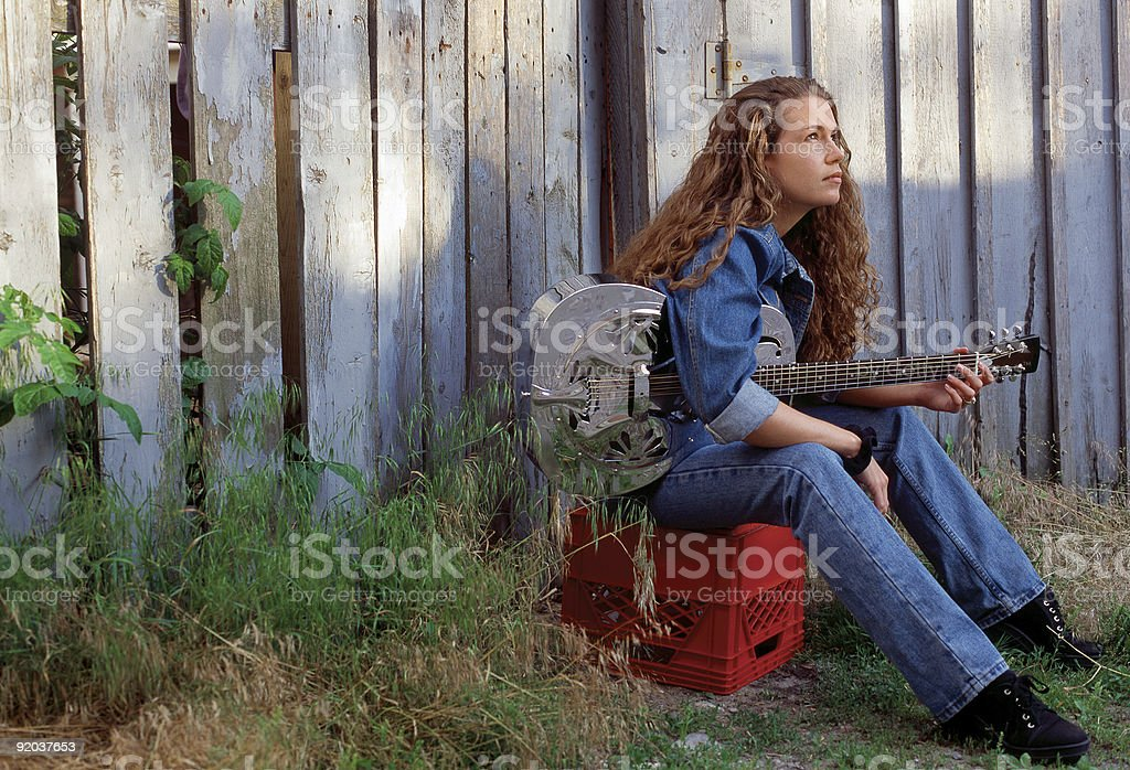 Songwriter royalty-free stock photo