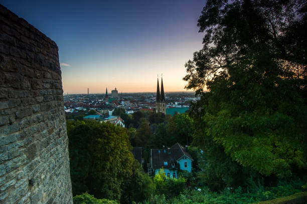 Sonnenaufgang über Bielefeld – Foto
