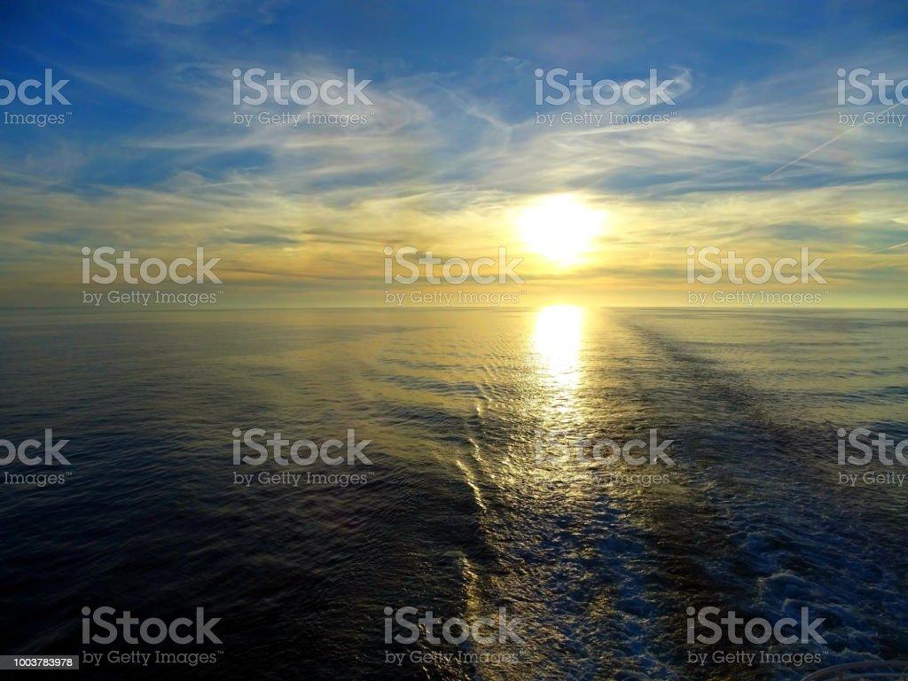 Sonnenaufgang/Sonnenuntergang – Foto