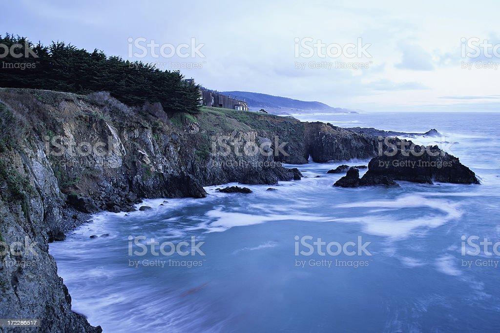 Sonoma coast at dawn royalty-free stock photo