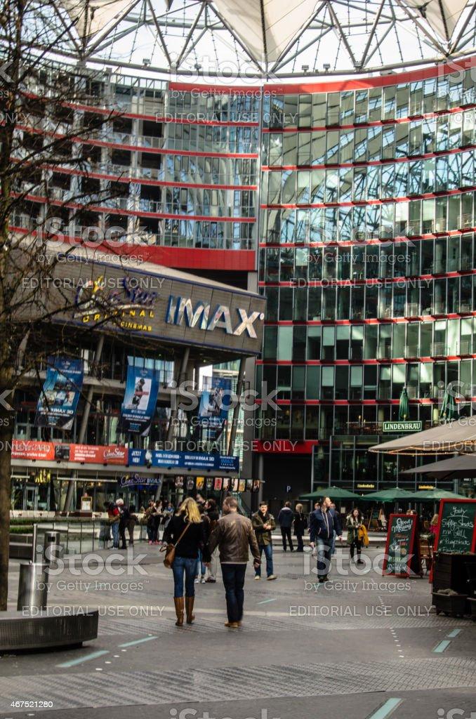 Sony Center - Berlin, Germany stock photo
