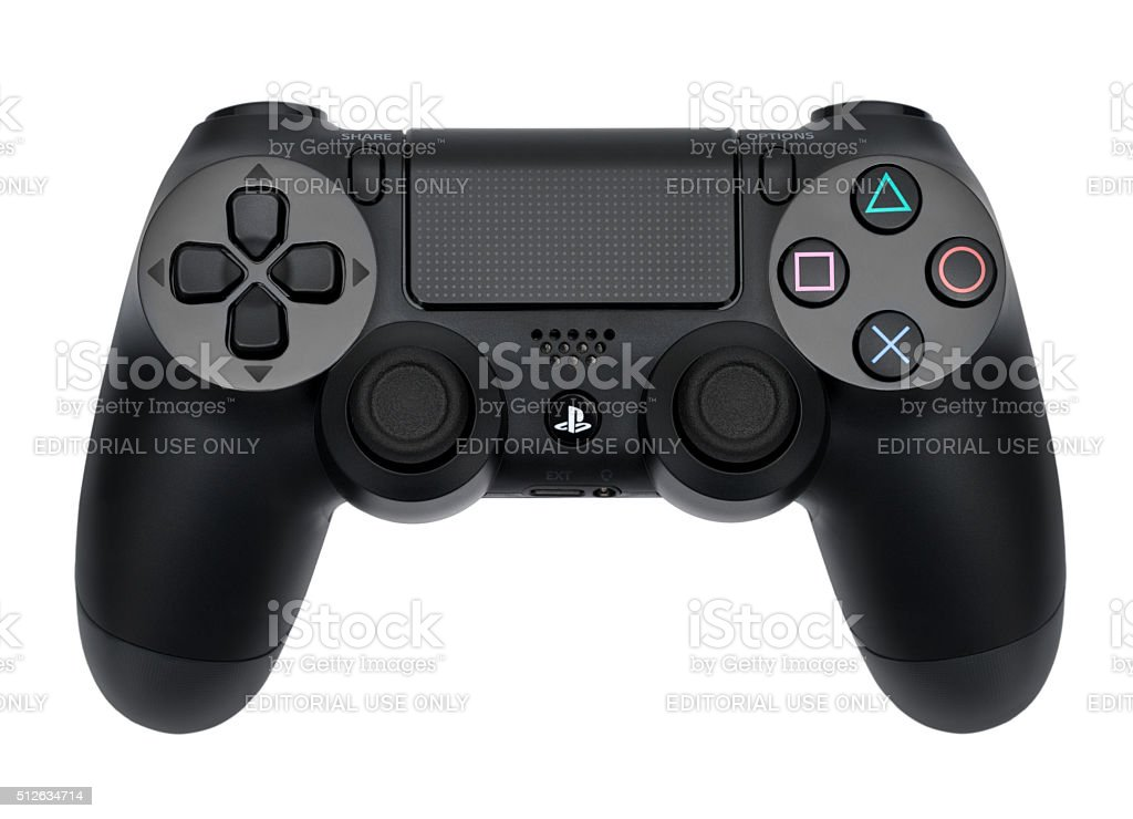Sony Dualshock 4 stock photo